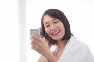 日本人女性のビューティイメージの写真素材 [FYI01801705]