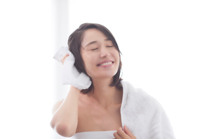 日本人女性のビューティイメージの写真素材 [FYI01801711]