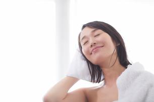 日本人女性のビューティイメージの写真素材 [FYI01801745]