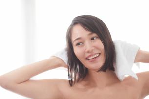 日本人女性のビューティイメージの写真素材 [FYI01802050]