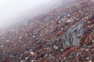 富士山の斜面の写真素材 [FYI01803522]