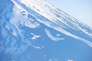 山梨県 富士山の雪形「農鳥」の写真素材 [FYI01804026]