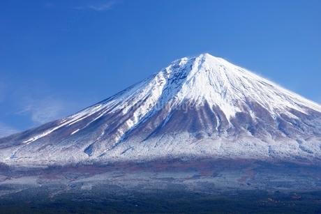 静岡県 雨上がりの富士山 白糸よりの写真素材 [FYI01804135]
