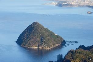 静岡県 発端丈山より望む淡島の写真素材 [FYI01804164]