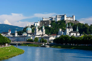 ホーエンザルツブルク城の写真素材 [FYI01804280]