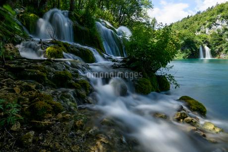プリトヴィツェ湖群国立公園の写真素材 [FYI01804414]