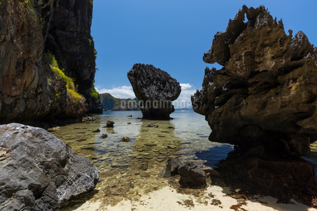 パラワン島 エルニドの写真素材 [FYI01804550]