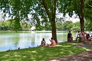 ルンピニ公園の写真素材 [FYI01804671]
