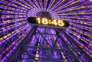 コスモクロックの時計の写真素材 [FYI01804864]