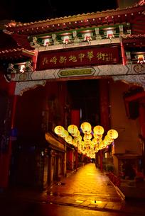 中華街中秋節印象の写真素材 [FYI01804888]