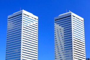 大阪ビジネスパーク(OBP)のツイン21の写真素材 [FYI01805005]