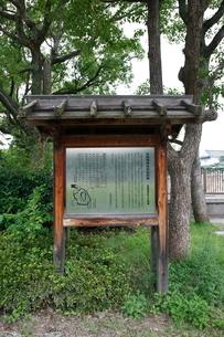 大阪城公園の「生国魂神社お旅所跡」の写真素材 [FYI01805027]