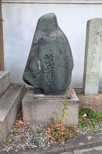 浄春寺 松尾芭蕉の墓の写真素材 [FYI01805028]