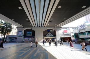 京橋駅前の写真素材 [FYI01805148]