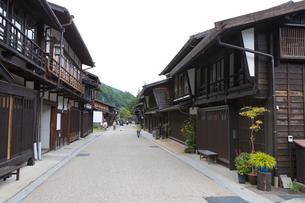 奈良井宿の写真素材 [FYI01805149]