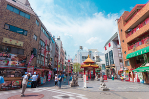 神戸南京町の写真素材 [FYI01805202]