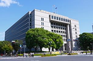 大阪市役所本庁舎の写真素材 [FYI01805216]