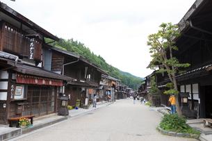 奈良井宿の写真素材 [FYI01805218]