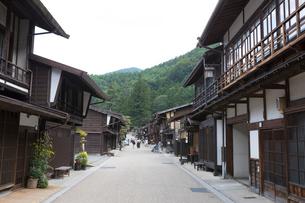 奈良井宿の写真素材 [FYI01805258]
