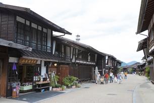 奈良井宿の写真素材 [FYI01805264]