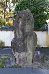 住吉公園の松尾芭蕉句碑の写真素材 [FYI01805274]