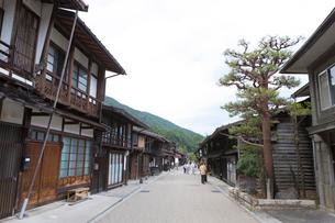 奈良井宿の写真素材 [FYI01805350]