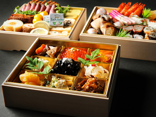 和食 おせちイメージの写真素材 [FYI01805367]