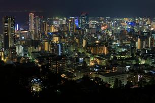 神戸市街の夜景の写真素材 [FYI01805383]