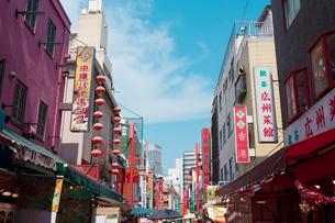 神戸南京町の写真素材 [FYI01805454]