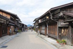 奈良井宿の写真素材 [FYI01805487]