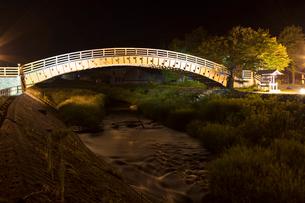 奈良井宿 木曽の大橋の写真素材 [FYI01805525]