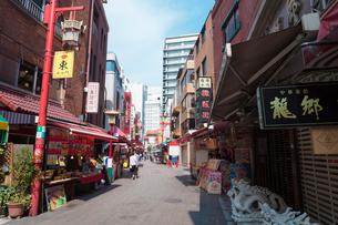 神戸南京町の写真素材 [FYI01805574]