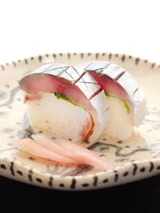 和食 さば寿司の写真素材 [FYI01805620]