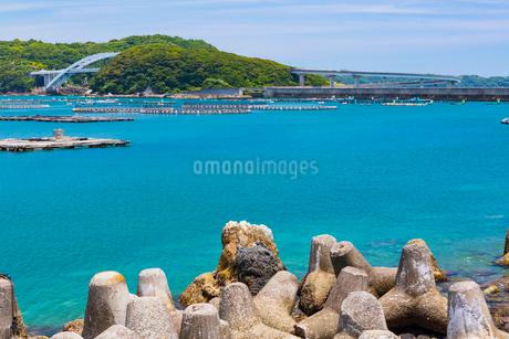 本州から望む紀伊大島と苗我島の写真素材 [FYI01805698]