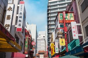 神戸南京町の写真素材 [FYI01805779]