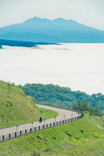 美幌峠の雲海の写真素材 [FYI01805959]