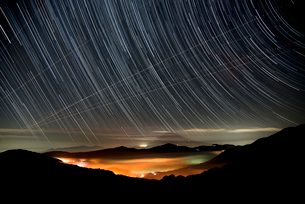 大観山からの富士山星景の写真素材 [FYI01806081]
