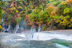 吹割の滝の写真素材 [FYI01806130]