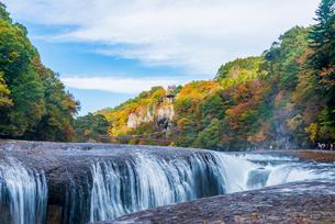 吹割の滝の写真素材 [FYI01806304]