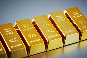 金塊の写真素材 [FYI01806544]