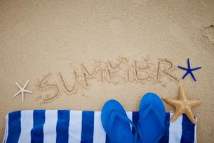 夏イメージの写真素材 [FYI01806638]