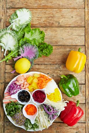 野菜の盛り合わせの写真素材 [FYI01807007]