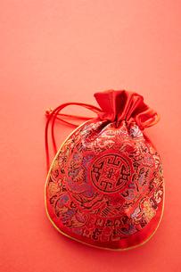 韓国の巾着袋の写真素材 [FYI01807144]