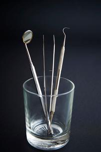 歯科器具の写真素材 [FYI01807328]
