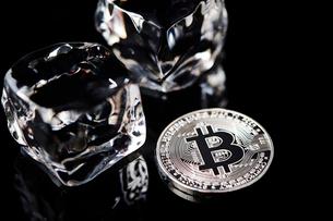 仮想通貨の写真素材 [FYI01807335]