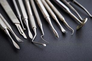 歯科器具の写真素材 [FYI01807336]