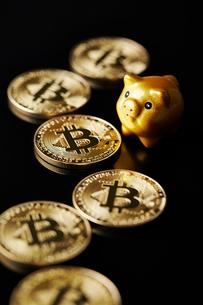 仮想通貨の写真素材 [FYI01807373]
