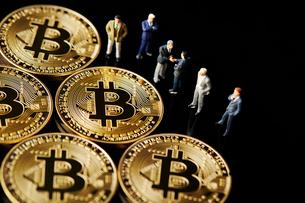 ビットコインの写真素材 [FYI01807378]