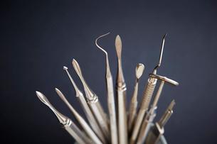 歯科器具の写真素材 [FYI01807401]