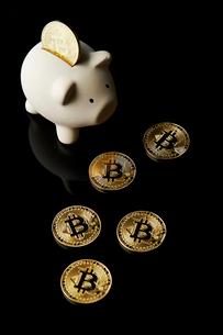 仮想通貨の写真素材 [FYI01807406]